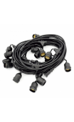 CABLE PORTALAMPARAS 5M.10XE27 IP65